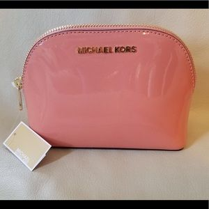 Rare Michael Kors large travel / make up pouch.